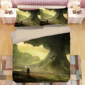 The Legend of Zelda Link #3 Duvet Cover Quilt Cover Pillowcase Bedding Set Bed Linen Home Decor