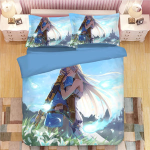 The Legend of Zelda Link #10 Duvet Cover Quilt Cover Pillowcase Bedding Set Bed Linen Home Decor