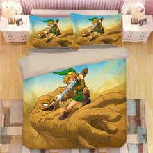Load image into Gallery viewer, The Legend of Zelda Link #13 Duvet Cover Quilt Cover Pillowcase Bedding Set Bed Linen Home Decor