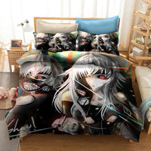 Load image into Gallery viewer, Tokyo Ghoul Kaneki Ken #22 Duvet Cover Quilt Cover Pillowcase Bedding Set