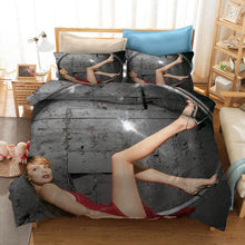 Load image into Gallery viewer, Charlize Theron #1 Duvet Cover Quilt Cover Pillowcase Bedding Set Bed Linen Home Decor