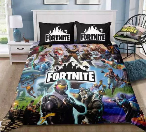 Fortnite Team #2 Duvet Cover Bedding Set