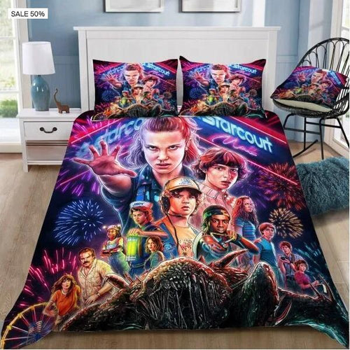 Stranger Things #1 Duvet Cover Quilt Cover Pillowcase Bedding Set