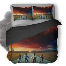Load image into Gallery viewer, Stranger Things #3 Duvet Cover Quilt Cover Pillowcase Bedding Set