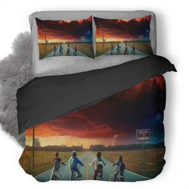 Stranger Things #3 Duvet Cover Quilt Cover Pillowcase Bedding Set