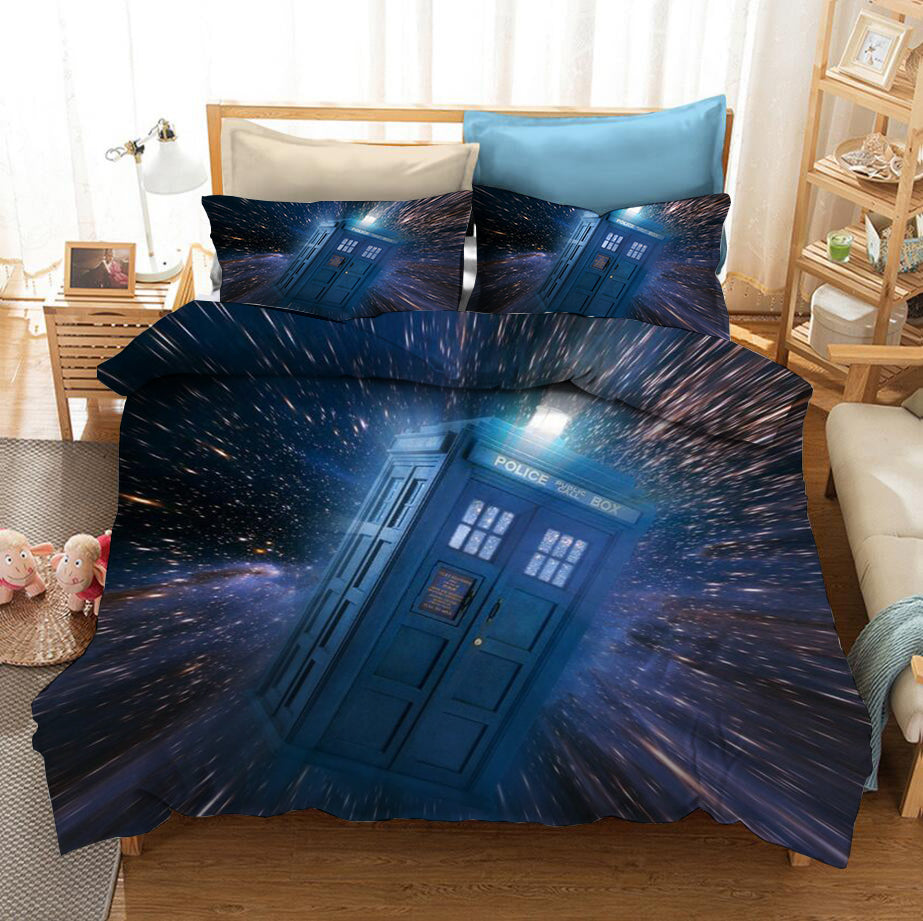 Doctor Who #7 Duvet Cover Quilt Cover Pillowcase Bedding Set Bed Linen Home Bedroom Decor