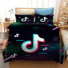 Load image into Gallery viewer, Tik Tok #25 Duvet Cover Quilt Cover Pillowcase Bedding Set Bed Linen Home Bedroom Decor