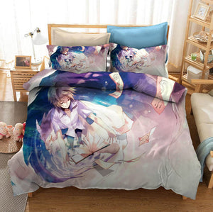 Natsume Yuujinchou Natsume's Book of Friends #6 Duvet Cover Quilt Cover Pillowcase Bedding Set Bed Linen Home Bedroom Decor