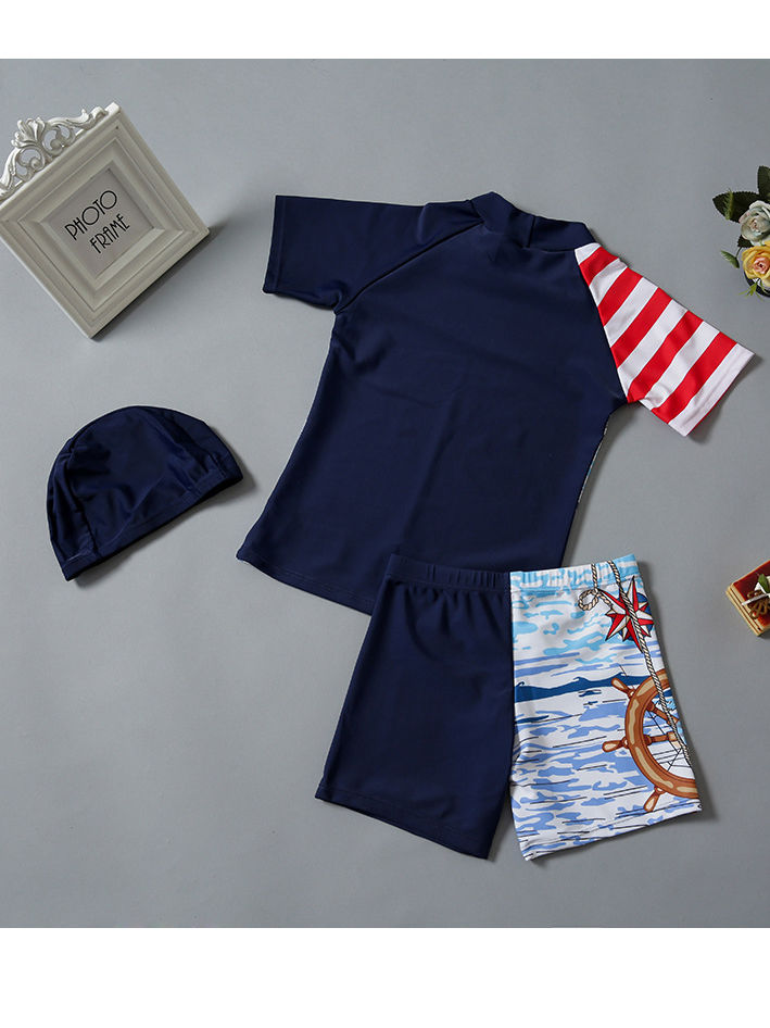 [PO] Sails On-port Swimwear Set