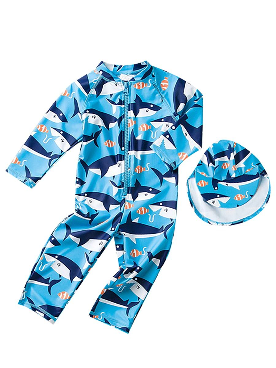 [PO] Shark Bait Swimsuit Set