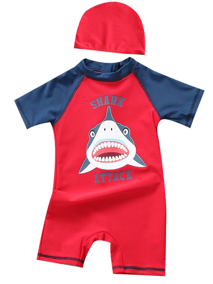 [PO] Shark Attack Swimwear Set