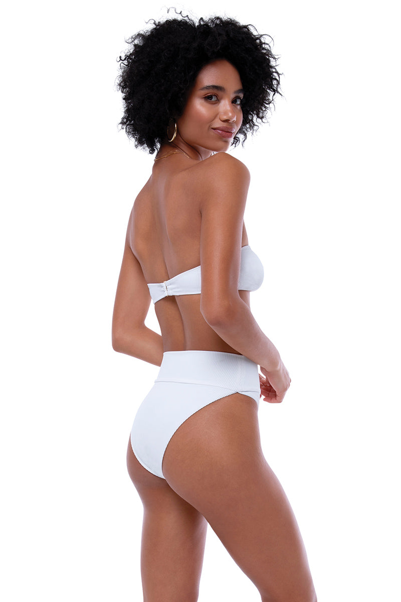 e178e380f25 Highway High-Waist Bottom White - Beach Riot ...