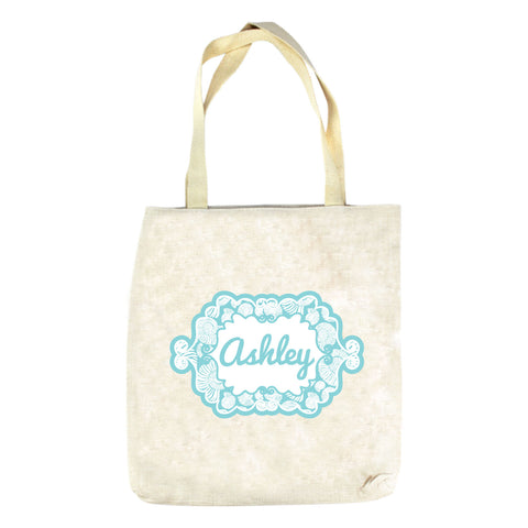 Shell Name Tote Bag