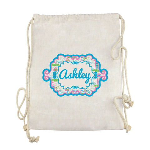 Lighthouse Name Drawstring Bag