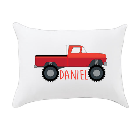 Monster Truck Name Travel Pillowcase