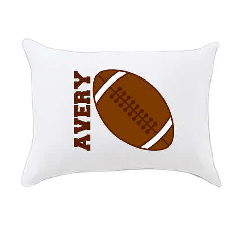 Football Name Travel Pillowcase