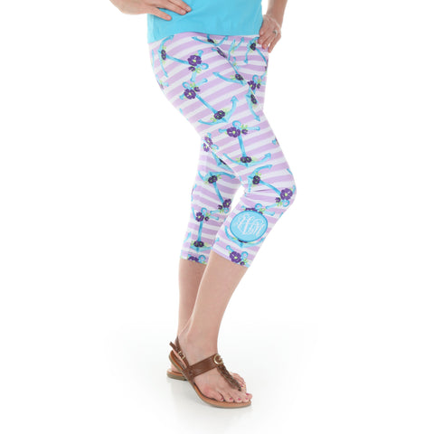 Ladies Anchor Arden Capri Leggings
