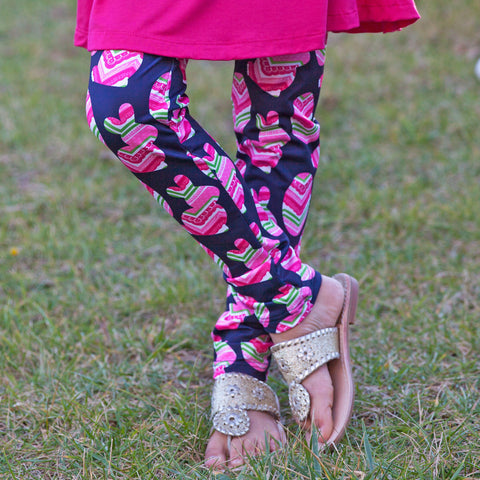Girls Easter Arden Leggings