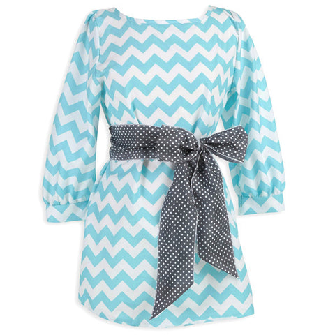 Chevron Sash Tunic