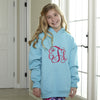 Scuba Blue Hooded Sweatshirt
