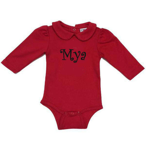 Red Peter Pan Onesie