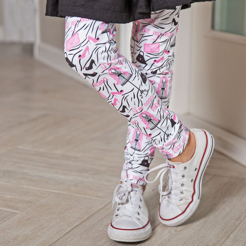 Girls Sassy Like Mama Arden Leggings