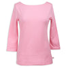 Bubblegum Pink Boatneck Top