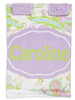 Paisley Minky Name Carseat Cover
