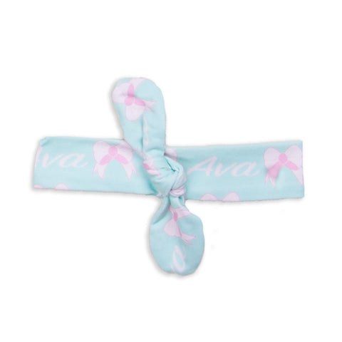 Bow Name Headband