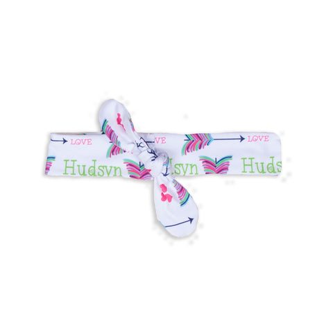 Deer Arrow Name Headband