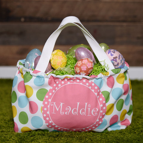Dot Name Easter Basket