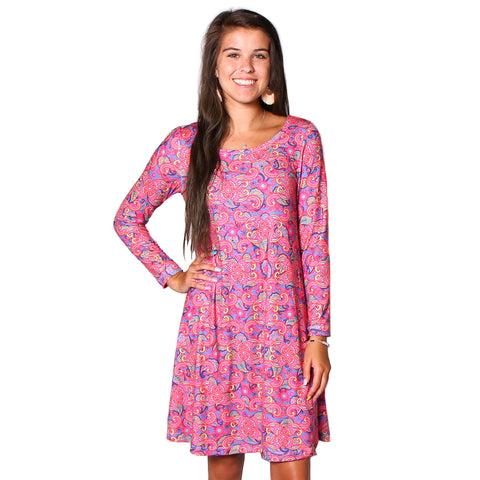 Whimsy Paisley Aubrey Dress
