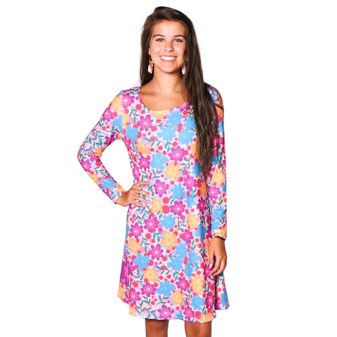 Whimsy Floral Fun Aubrey Dress