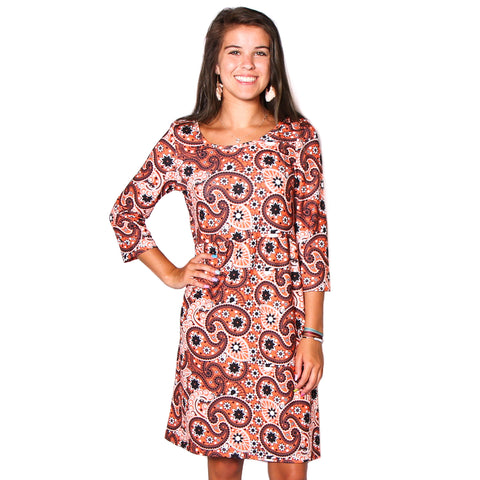 Halloween Paisley Olivia Dress