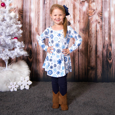 Arctic Snowflakes Charlee Dress