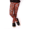 Girls Halloween Cheetah Arden Leggings