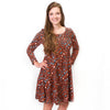 Halloween Cheetah Aubrey Dress