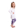 Girls Winter Unicorn Name Arden Leggings