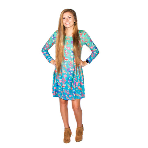 Bird Drop Aubrey Dress