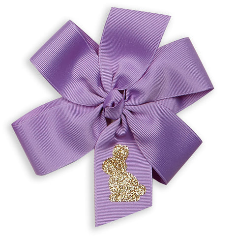 Bunny Double Loop Hairbow - You choose color!