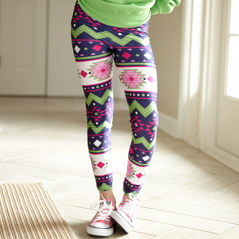 Girls Aztec Arden Leggings