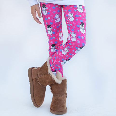 Girls Snowman Arden Leggings