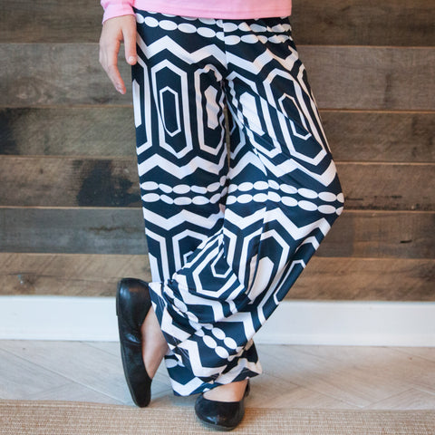 Girls Abstract Mila Palazzo Pant