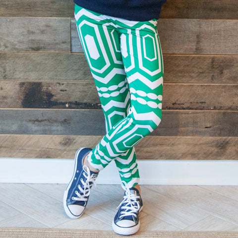 Girls Abstract Arden Leggings
