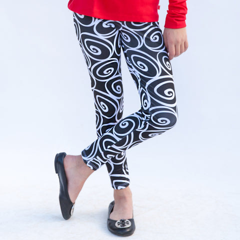 Girls Swirl Arden Leggings