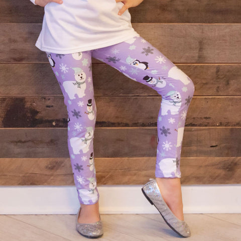 Girls Winter Arden Leggings
