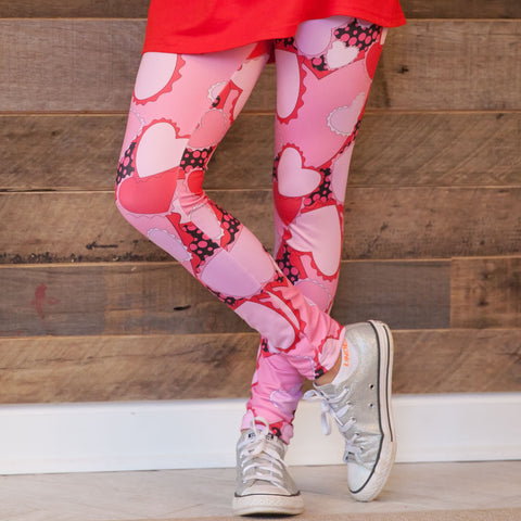 Girls Heart Arden Leggings
