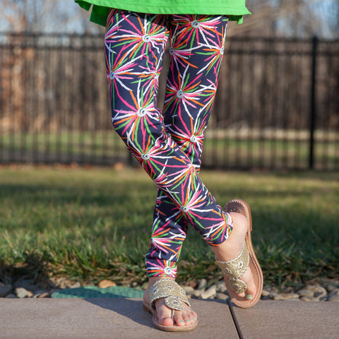Girls Starburst Arden Leggings