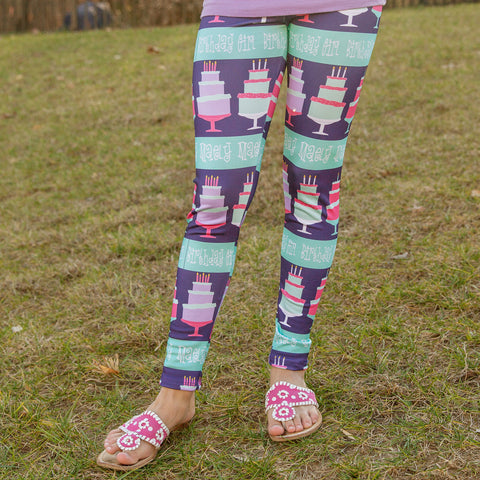 Birthday Girl NAME Arden Leggings