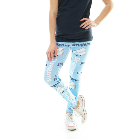 Girls Megaphone Name and Mascot Arden Leggings